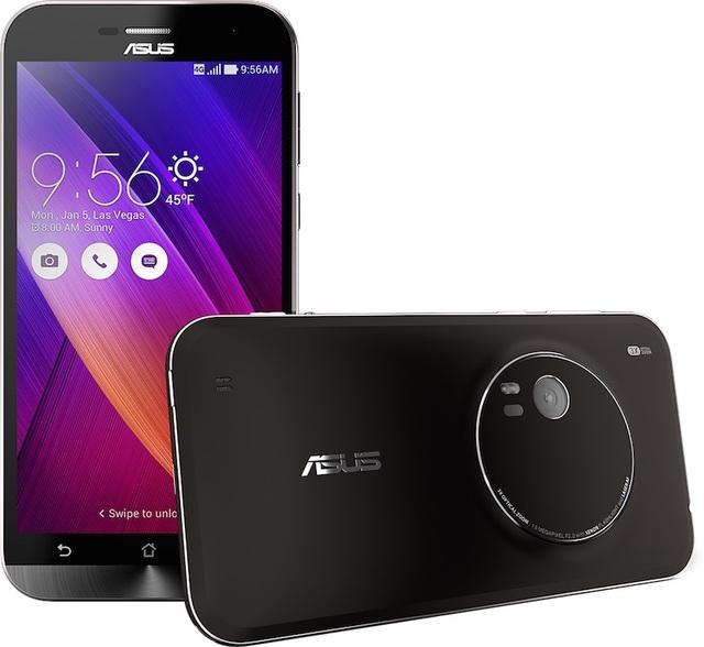 ASUS ZenFone Zoom: Smartphone có khả năng zoom quang học 3X mỏng nhất thế giới