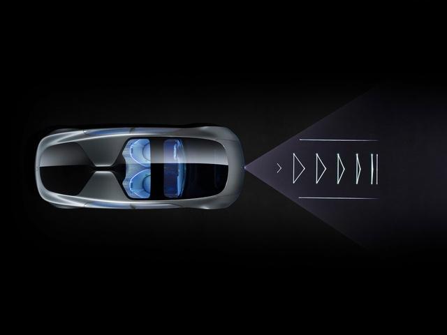 Hệ thống đèn Laser báo hiệu xe giảm tốc độ