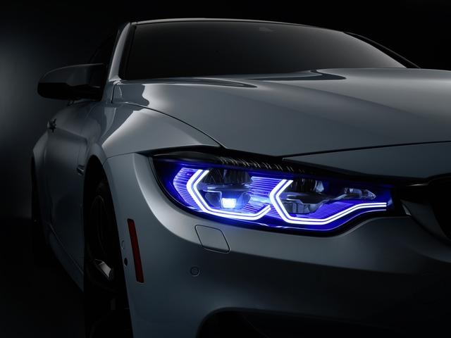 M4 Iconic Lights sử dụng công nghệ LightLaser thế hệ thứ hai