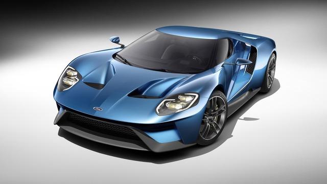Tại triển lãm NAIAS 2015, Ford đã làm hồi sinh siêu xe GT với thiết kế mới