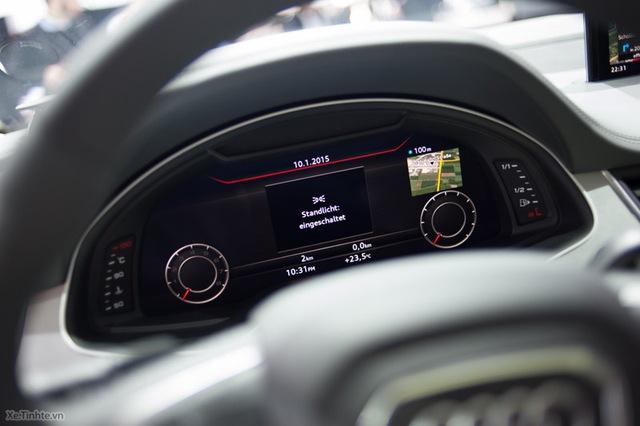 Màn hình điện tử phía trước tay lái (Nguồn: Xe.Tinhte.vn)