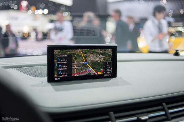 Xe được trang bị màn hình hiển thị 7 inch hỗ trợ chỉ đường cho tài xế (Nguồn: Xe.Tinhte.vn)