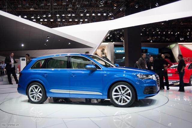 Audi Q7 2016 mang thiết kế hoàn toàn khác so với thế hệ trước