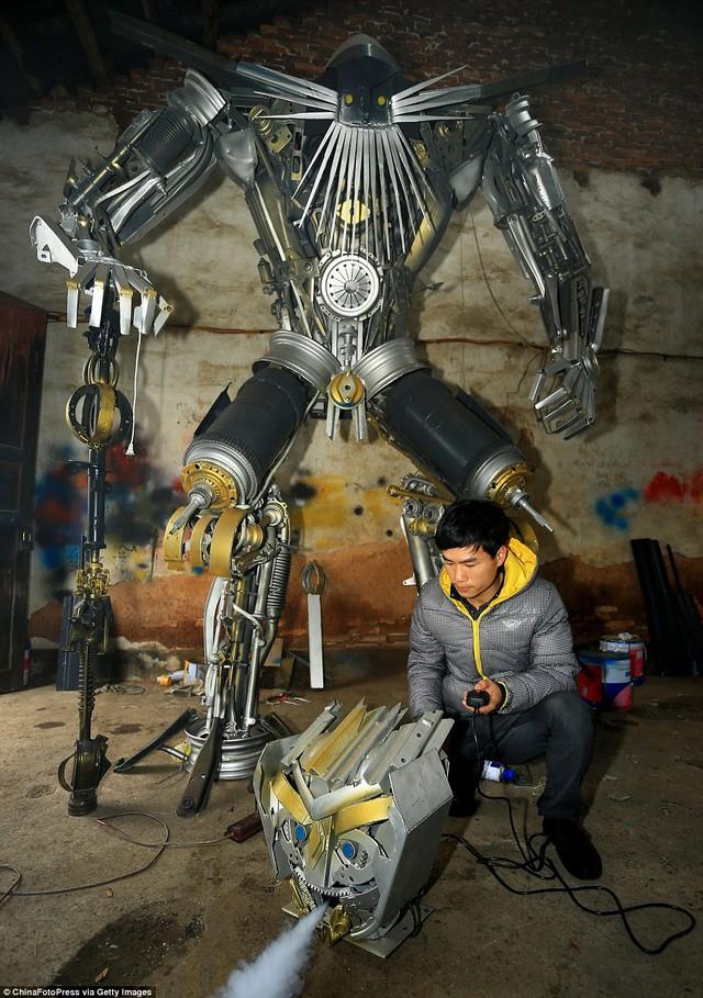 Mô hình Jetfire - một robot xuất hiện trong Transformer 2