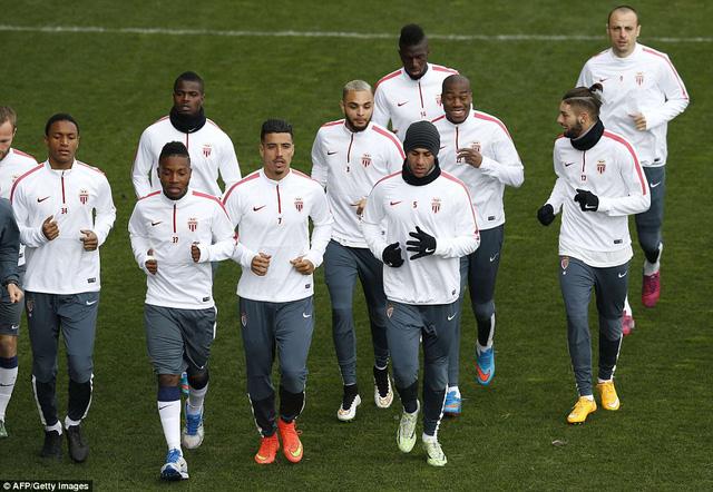 Các cầu thủ Monaco đang có lợi thế lớn để đi tiếp