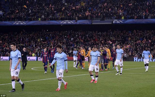 Giữa Man City và Barcelona vẫn có những sự chênh lệch đẳng cấp nhất định.
