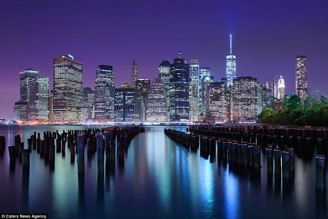 Đường chân trời cực kỳ ấn tượng ở New York