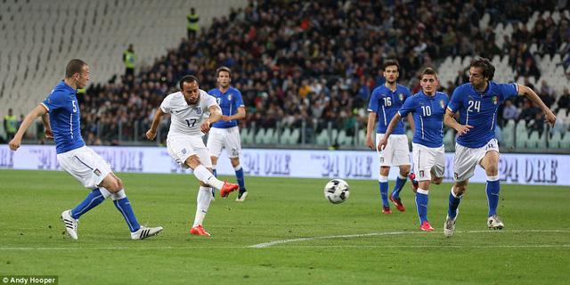Townsend gỡ hòa 1-1 cho đội tuyển Anh