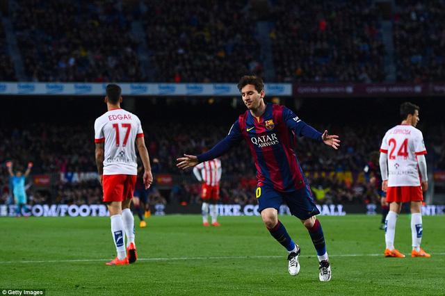 Messi ghi dấu ấn với bàn mở tỷ số