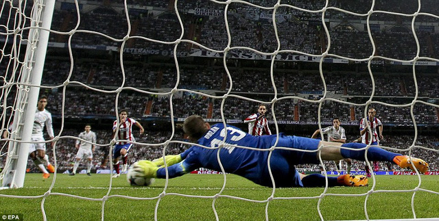 Oblak sẽ là một trong những thủ thành hay nhất Champions League mùa này.