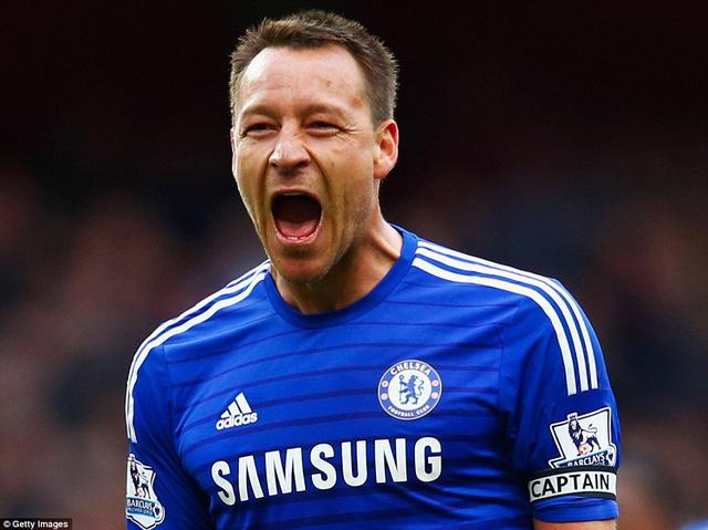 Terry vẫn cho thấy sự chắc chắn tuyệt đối ở trung tâm hàng phòng ngự Chelsea.