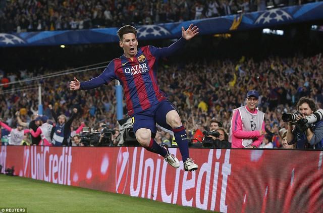 Messi sẽ tiếp tục tỏa sáng trong trận lượt về?