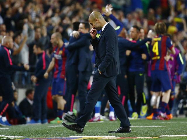 Tương lại của HLV Pep Guardiola tại Bayern Munich đang bị đặt một dấu hỏi lớn