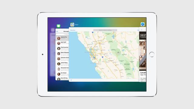 Cshế độ đa cửa sổ chỉ hỗ trợ từ iPad Air và iPad Mini 2 trở lên.