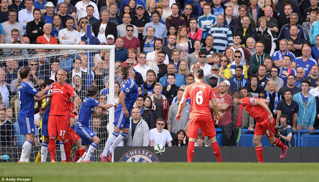 Bàn thắng vào lưới Chelsea là món quà chia tay mà Gerrard dành cho Liverpool.