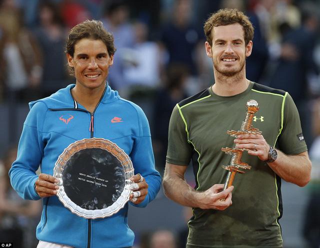 Andy Murray có chức vô địch Madrid Open thứ 2 trong sự nghiệp