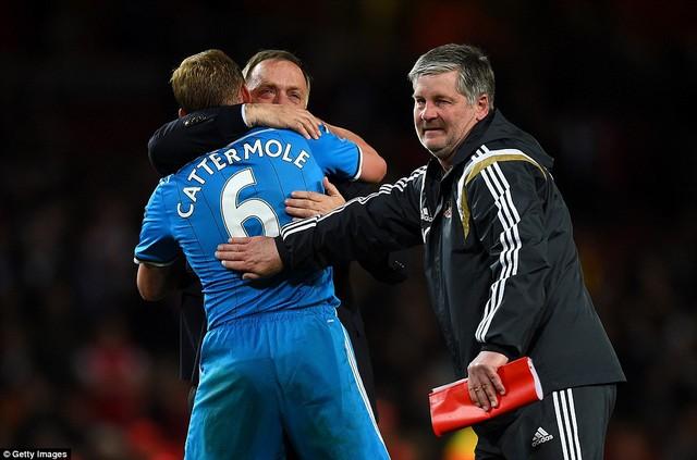 Sunderland đã chính thức trụ hạng