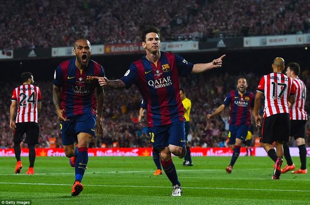 Lionel Messi đã có một màn trình diễn siêu hạng