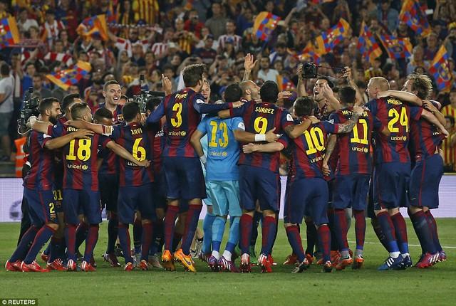 Barcelona tự tin hướng tới cú ăn 3 trong mùa giải