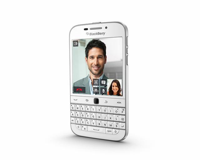 BlackBerry Classic phiên bản màu trắng