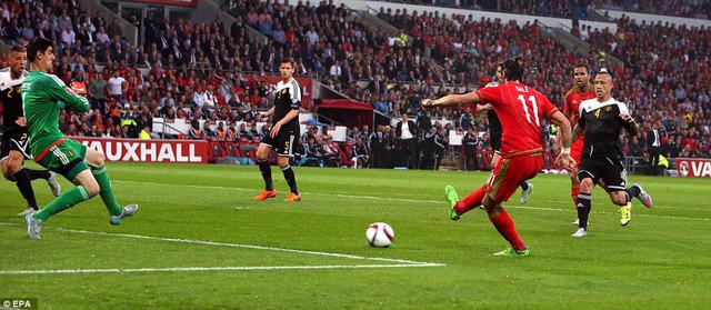 Gareth Bale đã ghi bàn thắng duy nhất để giúp xứ Wales đánh bại đội tuyển Bỉ