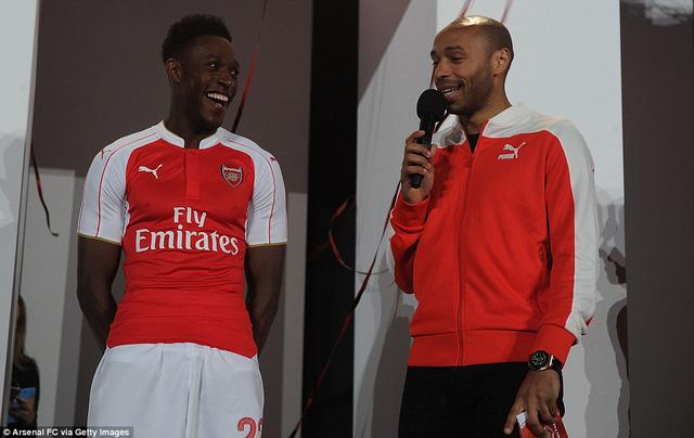 Thierry Henry và Danny Welbeck