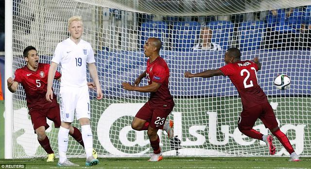 Bàn thắng duy nhất của Joao Mario đã mang về chiến thắng cho U21 Bồ Đào Nha