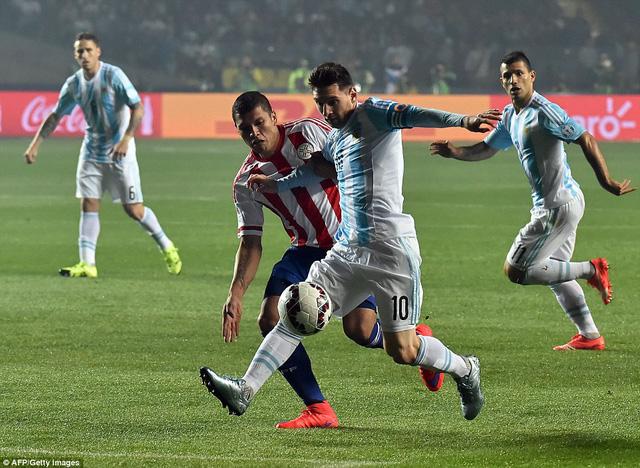 Lionel Messi ghi dấu ấn trong tất cả 6 bàn thắng của Argentina