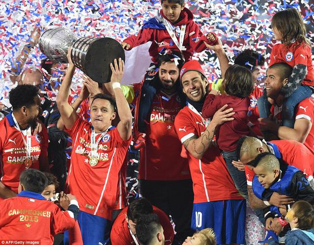 Chile đã có chức vô địch Copa America lần đầu tiên trong lịch sử