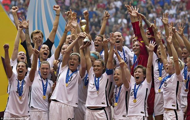 Đánh bại đội tuyển Nhật Bản, đội tuyển Mỹ giành chức vô địch World Cup Women 2015