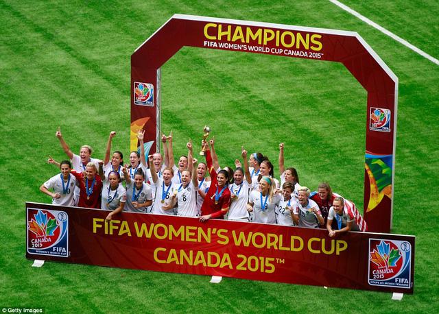 World Cup Women 2015 là chức vô địch bóng đá nữ thế giới lần thứ 3 của đội tuyển Mỹ sau 7 lần tổ chức