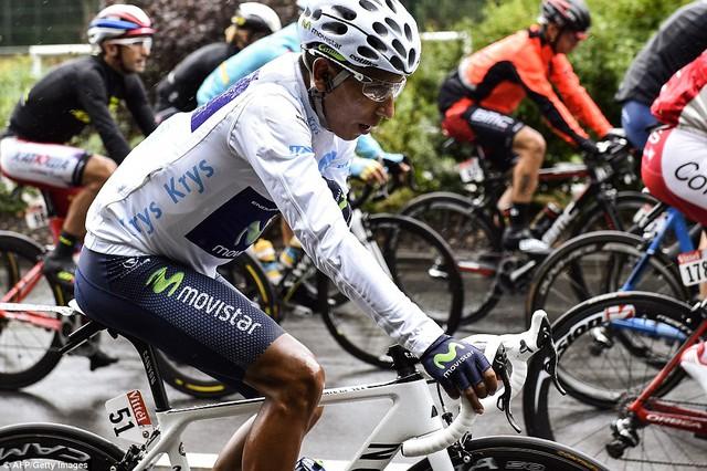Nairo Quintana (đội Movistar) là tay đua trẻ có thành tích tốt nhất