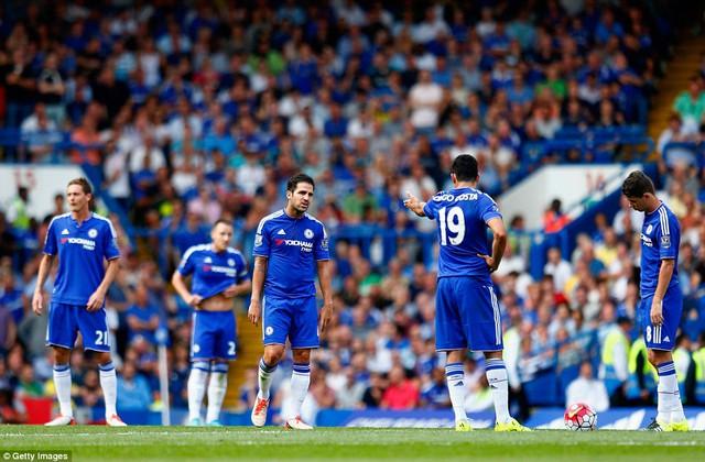 Chelsea có trận hòa đáng thất vọng ở trận đấu mở màn