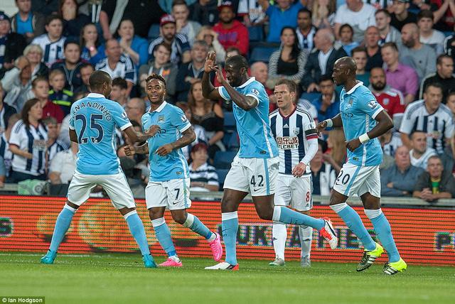 Man City có khởi đầu ấn tượng tại Ngoại hạng Anh mùa giải 2015/16