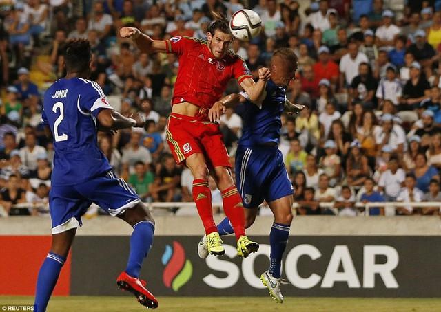Gareth Bale ghi bàn thắng duy nhất mang về chiến thắng xứ Wales ở phút 82