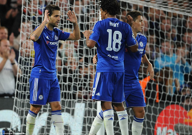 Niềm vui chiến thắng đã trở lại với Chelsea