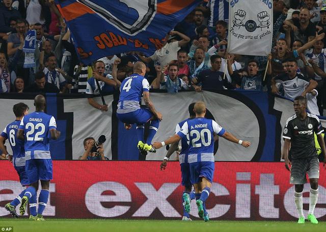 Porto là những người thi đấu xuất sắc hơn Chelsea ở trận này.