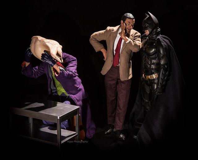 Mr. Bean giúp Batman bắt giữ Joker
