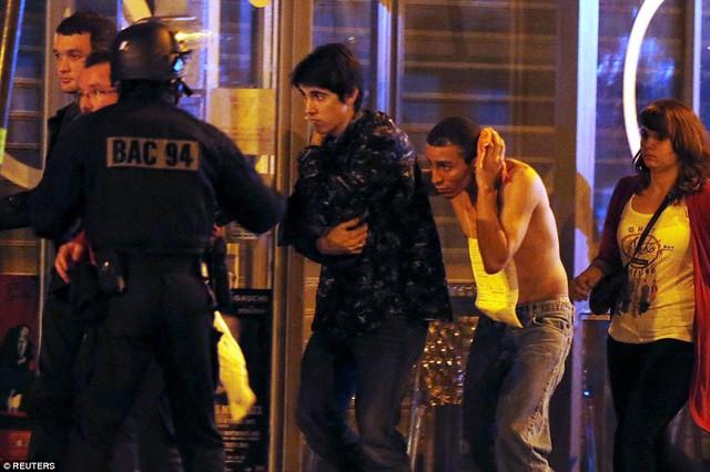 Các con tin đã được giải cứu khỏi phòng hòa nhạc Bataclan