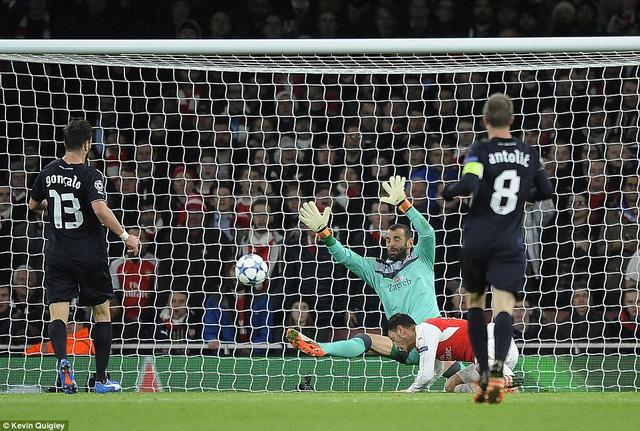 Hy vọng đi tiếp của Arsenal vẫn còn chưa hết sau khi đội bóng có được chiến thắng trước Dinamo Zagreb còn Olympiakos thất thủ trên sân Bayern Munich.