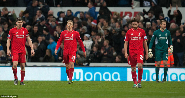 Liverpool không thể nâng mạch trận thắng của mình lên con số 5