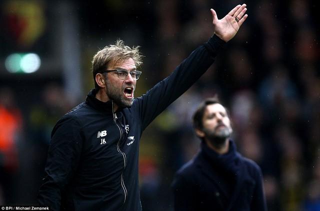 HLV Jurgen Klopp chưa thể giúp Liverpool giữ được sự ổn định sau chuỗi trận thăng hoa