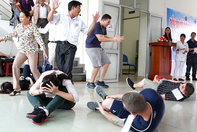 Số lượng người bị thương rất lớn. Ảnh: VGP/Hồng Hạnh