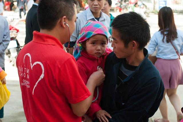 3000 trẻ đã được khám sàng lọc miễn phí.