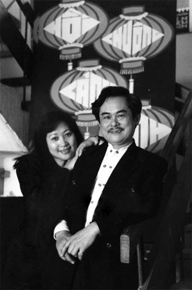 Vợ chồng cố nghệ sĩ Anh Dũng và nghệ sĩ Phương Thanh