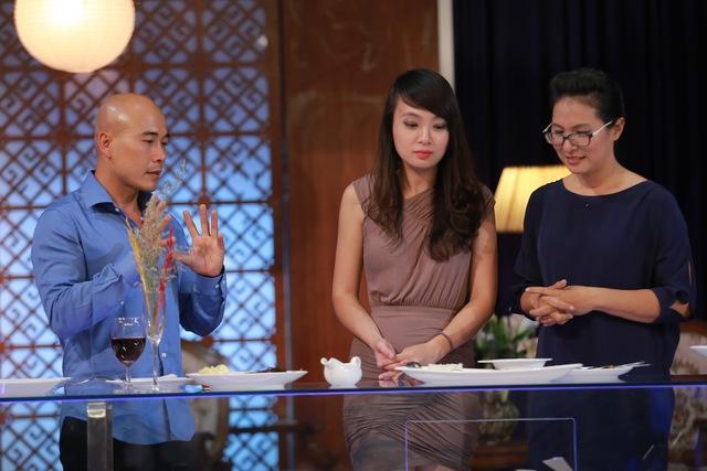 Ba đầu bếp Thái Hòa, Minh Nhật và Thanh Hòa đều bình chọn các thí sinh ngang nhau.
