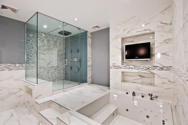 Một phòng tắm với thiết kế ấn tượng