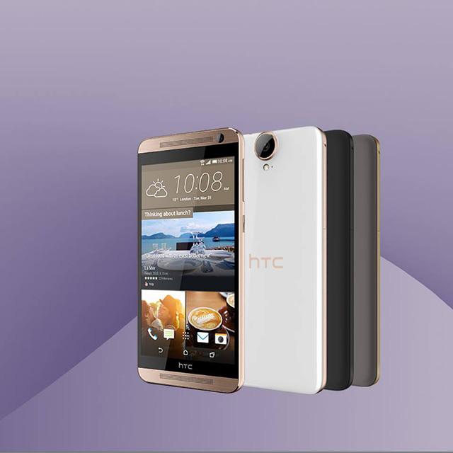 HTC One E9+ có 3 phiên bản màu sắc khác nhau