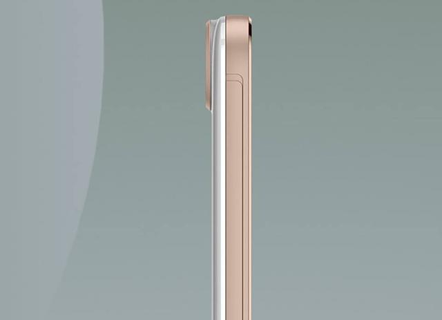 Camera sau của HTC One E9+ được thiết kế lồi