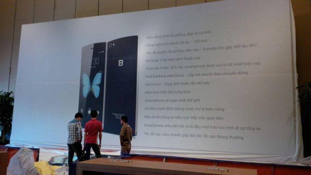 Hình ảnh tiết lộ thông tin chi tiết về chiếc BPhone trước thời điểm ra mắt chính thức (Nguồn: Internet)